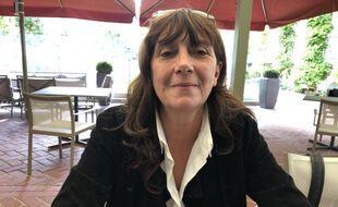 Sylvie Pialat à l'hôtel Normandy pour le Festival de Deauville 2020