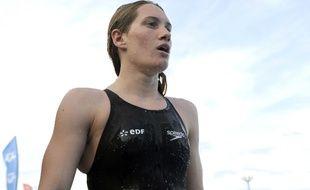 Camille Muffat a gagné le 400m nage libre aux JO 2012 de Londres. RODRIGUEZ PASCAL
