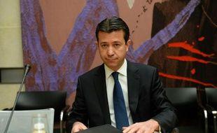 L'ex-directeur financier d'EDF, Thomas Piquemal, lors d'une audition à l'Assemblée nationale le 4 mai 2016