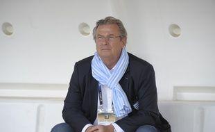 Jacky Lorenzetti, le président du Racing Métro, le 16 août 2014.