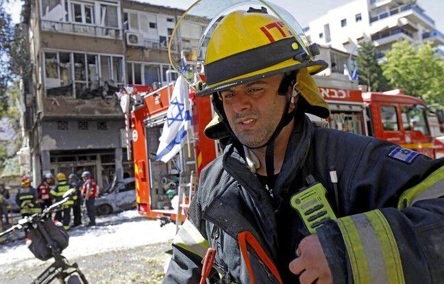 648x415 pompiers israelien tel aviv 15 mai 2021 illustration