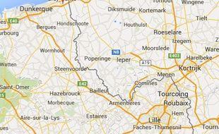 La commune de Ghyvelde, dans le Nord.