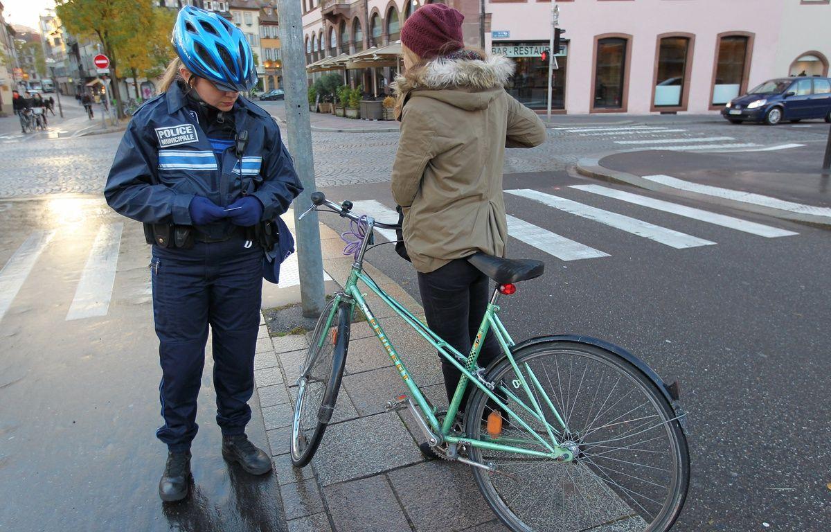 Strasbourg: Faute de bons résultats, c'est la fin de l'expérimentation strasbourgeoise d'amendes minorées pour les cyclistes. (Archives) – G. Varela / 20 Minutes