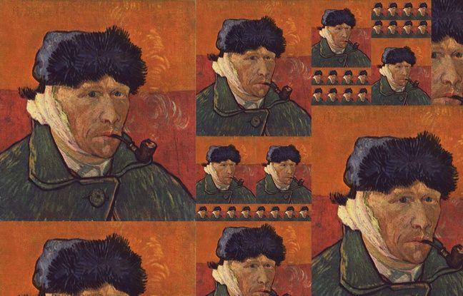 Illustration de Vincent Van Gogh, peintre français qui souffrait de troubles bipolaires.