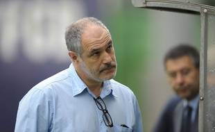 Andoni Zubizarreta en juillet 2014.