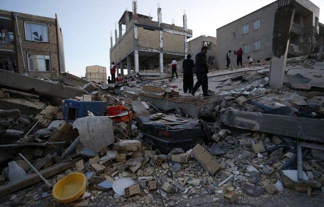 nouvel ordre mondial | VIDEO. Séisme: Le bilan monte à 214 morts et 2.000 blessés en Iran et en Irak