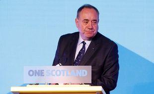 Le Premier ministre écossais Alex Salmond, à Edimbourg, le 19 septembre 2014. (AP Photo/PA, Danny Lawson)