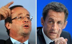 Le socialiste François Hollande devancerait de onze points Nicolas Sarkozy au premier tour de la présidentielle, un écart inchangé sur un mois, selon un sondage Ipsos Logica rendu public mercredi.