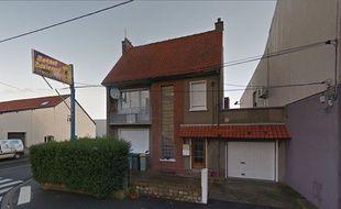 Capture Google Street View du 36 avenue Léon Blum, à Arques, l'adresse où était situé le Sunset Boulevard.