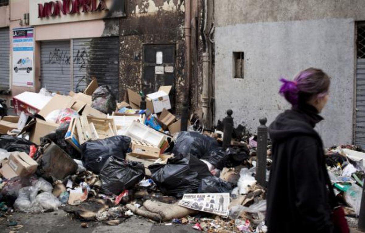Les rues de la ville cumulent 8.000 tonnes de déchets, et environ 800 incendies de poubelles ont été recensés – VINCENT BEAUME/20 MINUTES