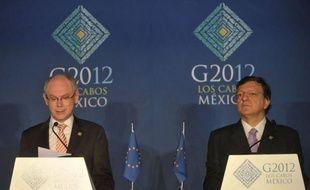 Les Européens en butte aux pressions de leurs partenaires, ont vivement réagi lundi à Los Cabos peu avant l'ouverture du sommet du G20, affirmant qu'ils n'acceptaient pas les leçons de démocratie ou d'économie, et promis des résultats, y compris au cours de leur sommet fin juin.