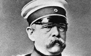 Photo non datée du chancelier prussien puis allemand, Otto von Bismarck (1815-1898)