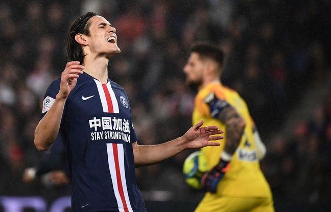 PSG-Bordeaux: Paris souffre mais s'impose grâce à un Cavani record et au patron Marquinhos