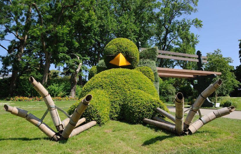Voyage à Nantes: Pas de poussin au Jardin des plantes cet été!