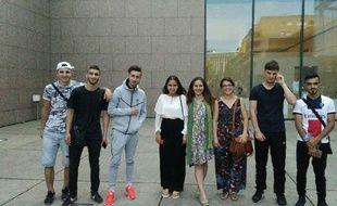 L'équipe derrière le film documentaire sur le quartier de Cronenbourg au complet.
