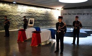 Dernier hommage à Simone Veil le 29 juin 2018 au Mémorial de la Shoah.