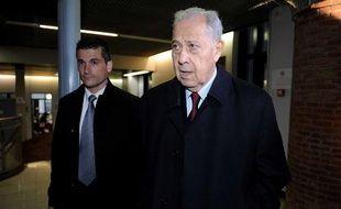 L'ancien ministre Charles Pasqua le 15 octobre 2012.
