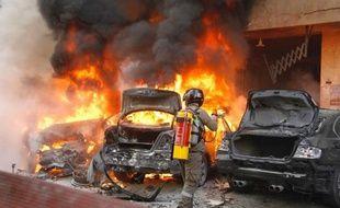Deux personnes ont été tuées dans un attentat suicide dans un quartier du sud de Beyrouth, considéré comme une place forte du mouvement chiite libanais Hezbollah