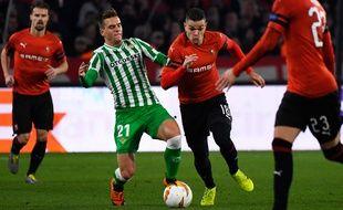 Hatem Ben Arfa a inscrit un penalty juste avant la mi-temps.