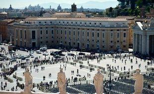La place Saint Pierre au Vatican