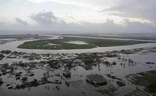 L'ouragan Laura a provoqué de nombreuses inondations en Louisiane (Etats-Unis), le 28 août 2020