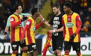 Lens s'est qualifié mecredi pour les quarts de finale de ala coupe de France