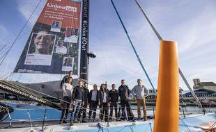 Thomas Ruyant s'est appuyé sur une équipe d'une dizaine de personnes pour réussir son Vendée Globe
