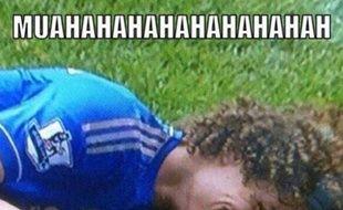 Capture d'écran de David Luiz sur Twitter