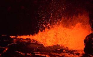 L'éruption du volcan Kilauea, filmée en 4K.