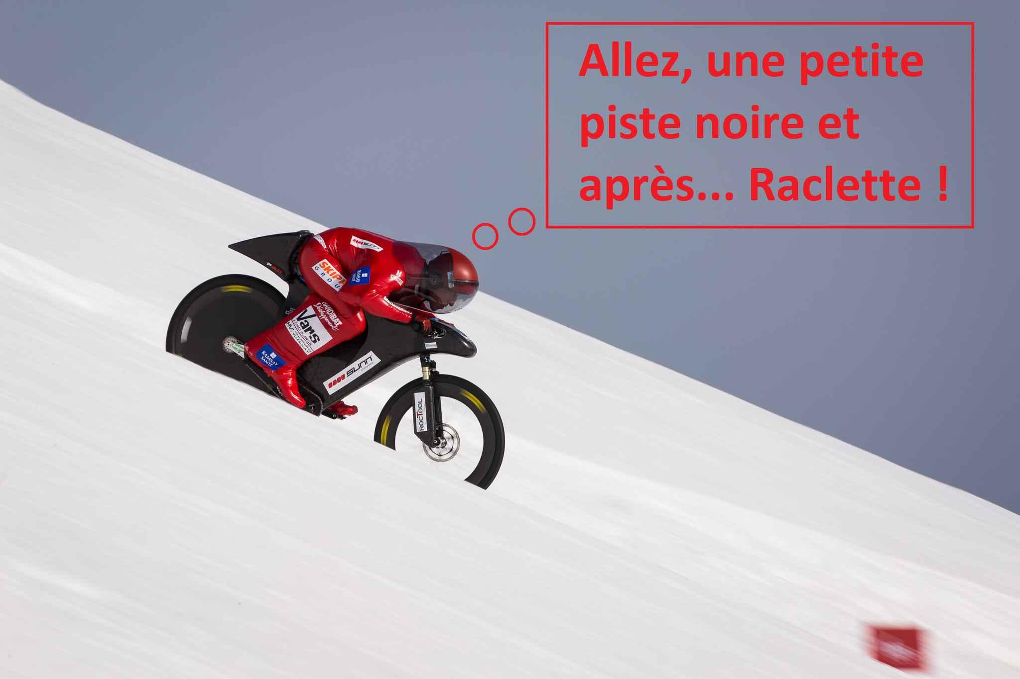 Nouveau record du monde de VTT de vitesse