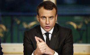 Emmanuel Macron va-t-il faire long ou cours pour ses premiers voeux?