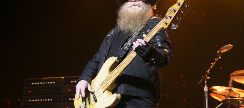 Le bassiste de ZZ Top, Dusty Hill