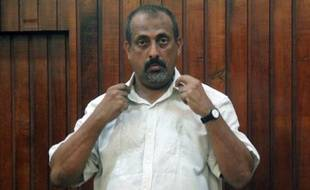 Feisal Mohamed Ali, le chef présumé d'un vaste trafic d'ivoire au Kenya, le 24 décembre 2014 au tribunal de Mombasa