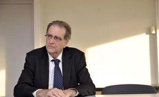 Le procureur de la République de Nanterre (Hauts-de-Seine) Robert Gelli, à Nîmes le 27 février 2012