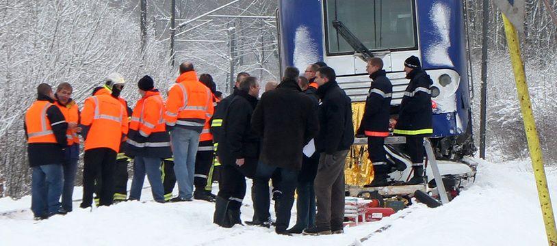 L'accident a eu lieu près de Maubeuge en 2010.