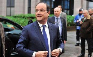 Francois Hollande le 21 mars 2014 à Bruxelles