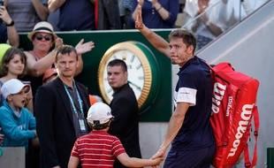 Nicolas Mahut a été éliminé au troisième tour de Roland-Garros, le 31 mai 2019.