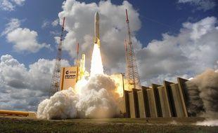 Un décollage de la fusée Ariane 5 en 2016.