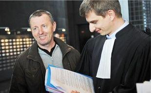 Didier Jambart était soulagé à la lecture du jugement prononcé par le tribunal de Nantes.