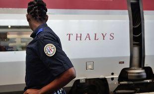 La ligne à grande vitesse du Thalys entre Lille et Bruxelles a fait l'objet de sabotages.