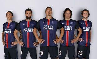Les sponsors du PSG on accepté de s'effacer pour rendre hommage aux victimes des attentats.