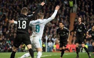 Lo Celso a provoqué un penalty suite à une faute sur Kroos.
