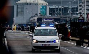 A l'aéroport Zaventem, le 22/3/2015. AFP PHOTO / Belga / Jonas Roosens.