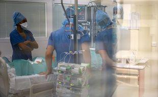 L'hôpital de La Timone, à Marseille, fin septembre 2020. (illustration)