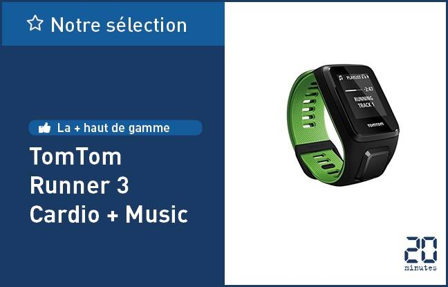 TomTom Runner 3 Cardio + Music.