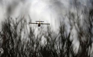 (Photo d'illustration) 150 hectares ont déjà été ravagés par le feu à proximité d'Aubagne, le 19 août.