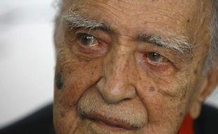 L'architecte brésilien Oscar Niemeyer, ici lors de son 100e anniversaire en 2007, est mort le 5 décembre 2012 à Rio de Janeiro.
