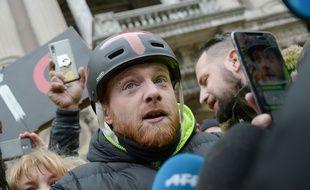 Maxime Nicolle, alias Fly Rider, l'une des figures du mouvement des «gilets jaunes».
