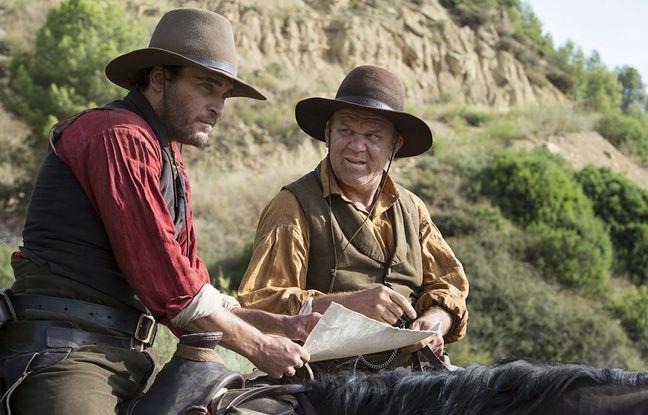 Joaquin Phoenix et John C.Reilly dans Les Frères Sisters de Jacques Audiard