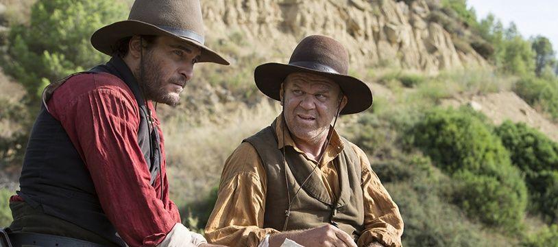 Joaquin Phoenix et John C. Reilly dans «Les Frères Sisters» de Jacques Audiard